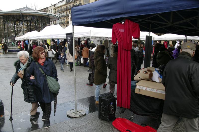 Imagen del mercado el pasado sábado. Foto: Santiago Farizano