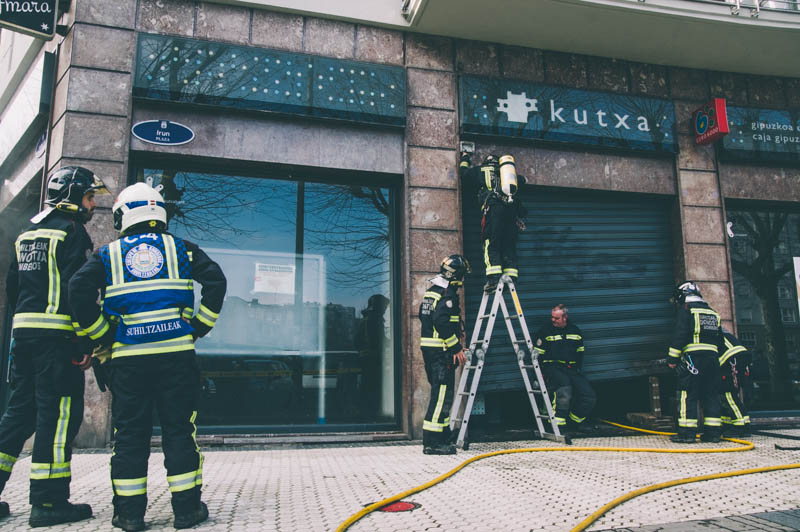 Incendio Kutxa