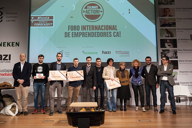 Emprendedores Culinary Action!