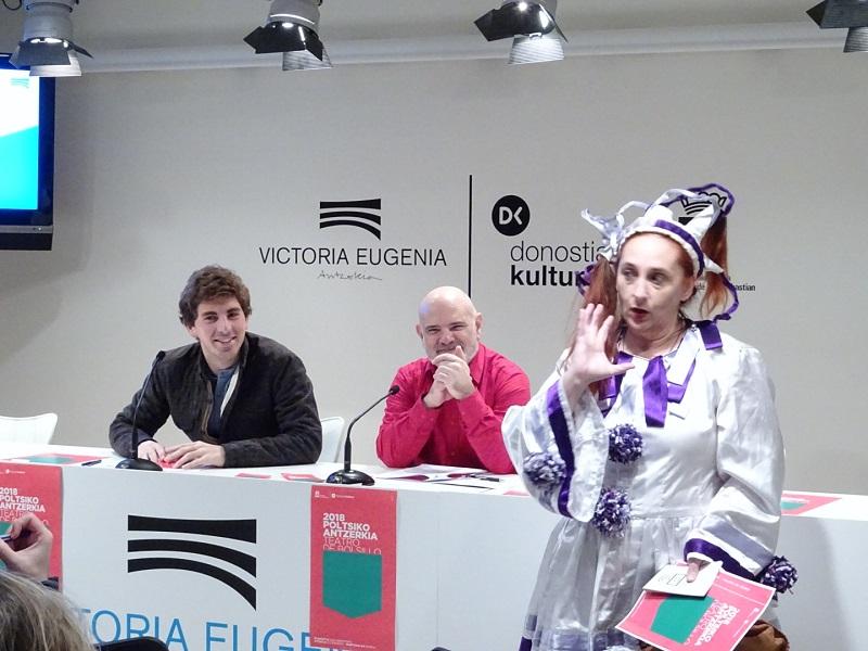 Presentación del festival. Foto: Donostia Kultura