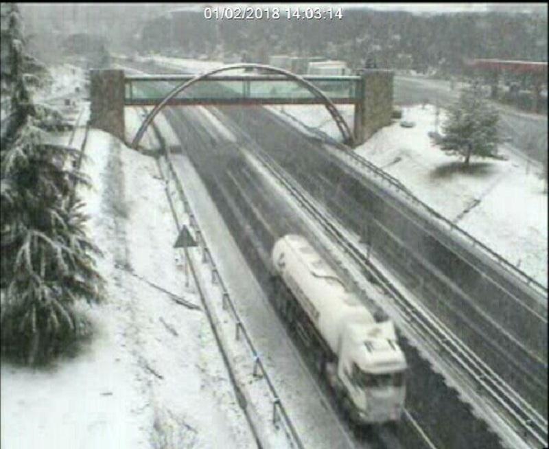 La nieve vuelve a Gipuzkoa. Foto: VOST  Euskadi