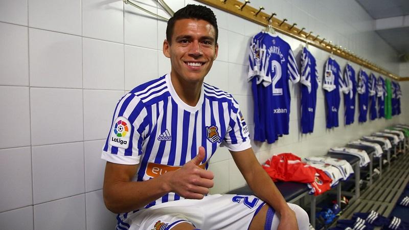 Héctor Moreno. Foto: Real Sociedad