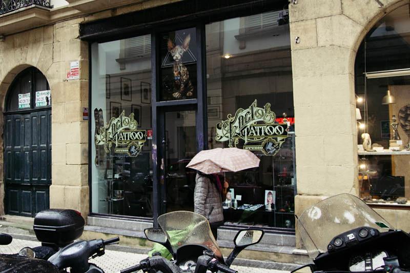 El local del denunciado. Foto: Santiago Farizano.