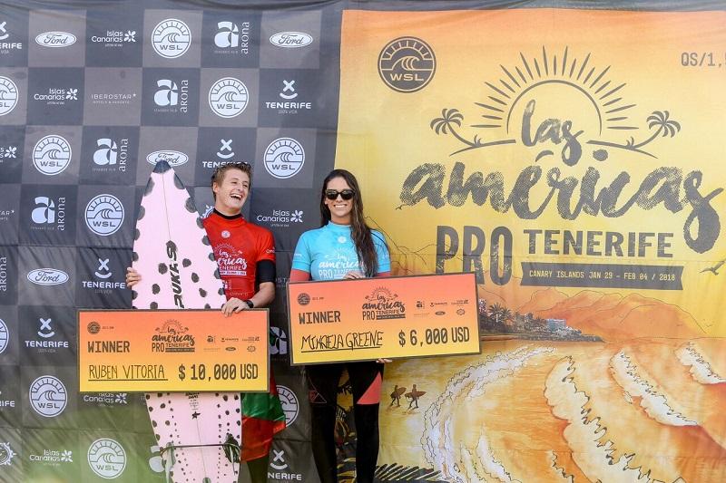 El ganador Rubén Vitoria. Foto © WSL / Masurel