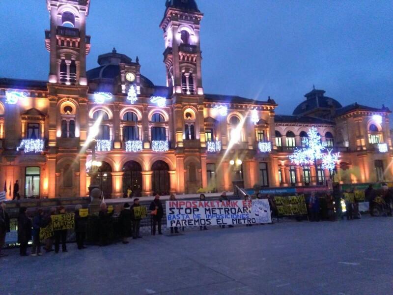 Manifestación del pasado 20 de diciembre.  Foto: A.E.