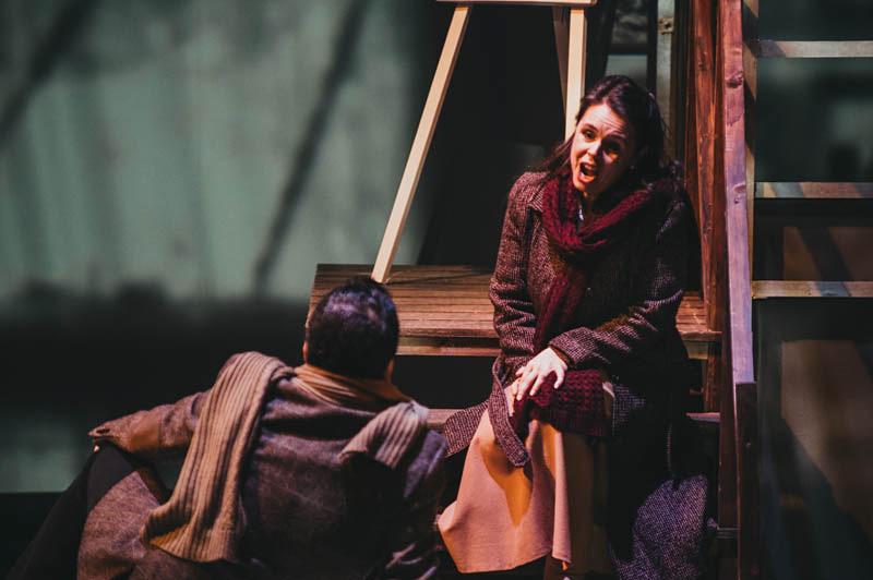 Ainhoa Garmendia en La Bohème. Foto: Santiago Farizano