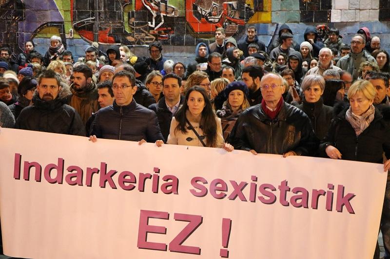 Marcha el 26 de febrero en Usurbil. Foto: Diputación