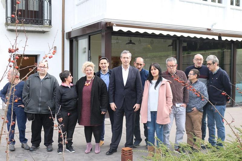 En la casa de Atzegi en Ikaztegieta. Foto: Diputación