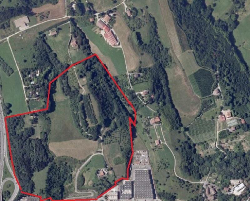 En rojo, el área programada como Belartza 2.
