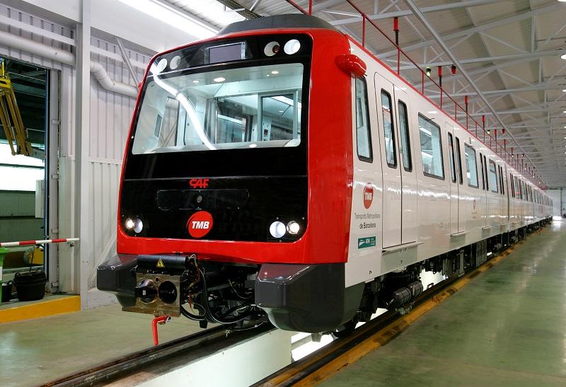 Unidades suministradas anteriormente por CAF para el Metro de Barcelona. © Karlos Corbella –argazkilaria-