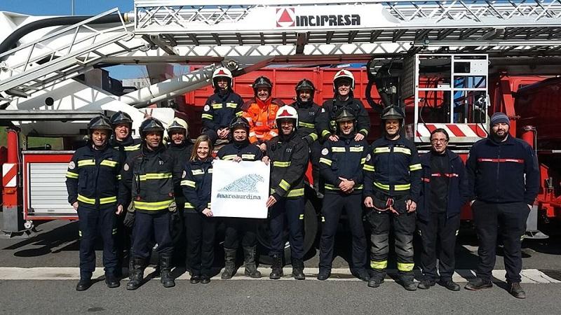 Los bomberos de San Sebastián se unen a Marea Urdina.