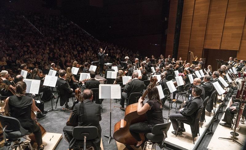 Imagen de la Orquesta Sinfónica de Euskadi. Foto: OSE