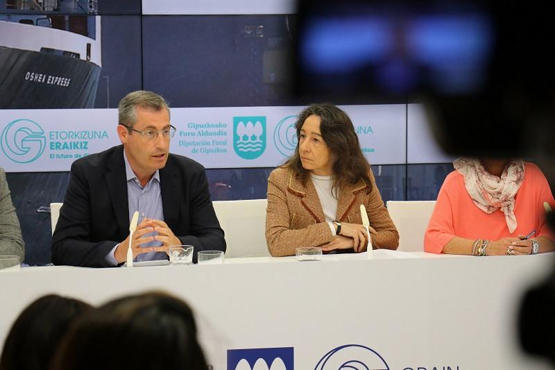 """Markel Olano mantiene la """"legitimidad"""" del ente foral para mantener el cobro. Foto: Diputación"""
