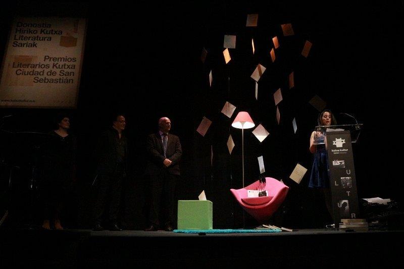 Entrega de los premios del Ciudad San Sebastián en 2016. Foto: Kutxa Kultur
