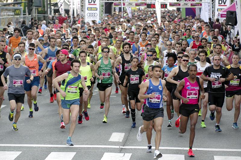 Media maraton del pasado año. Foto: Santiago Farizano