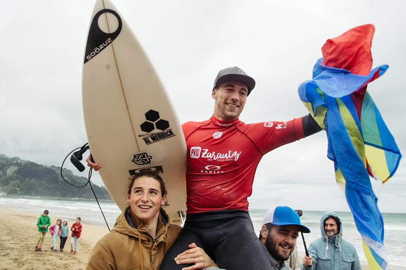 El campeón Jorgann Couzinet. Foto: Santiago Farizano