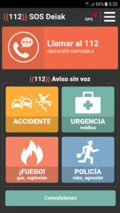 sosdeiak2 169x300 - Una nueva APP de emergencias más accesible