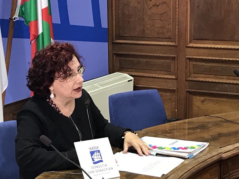 Amaia Almirall, concejala de EH Bildu. Foto: EH Bildu