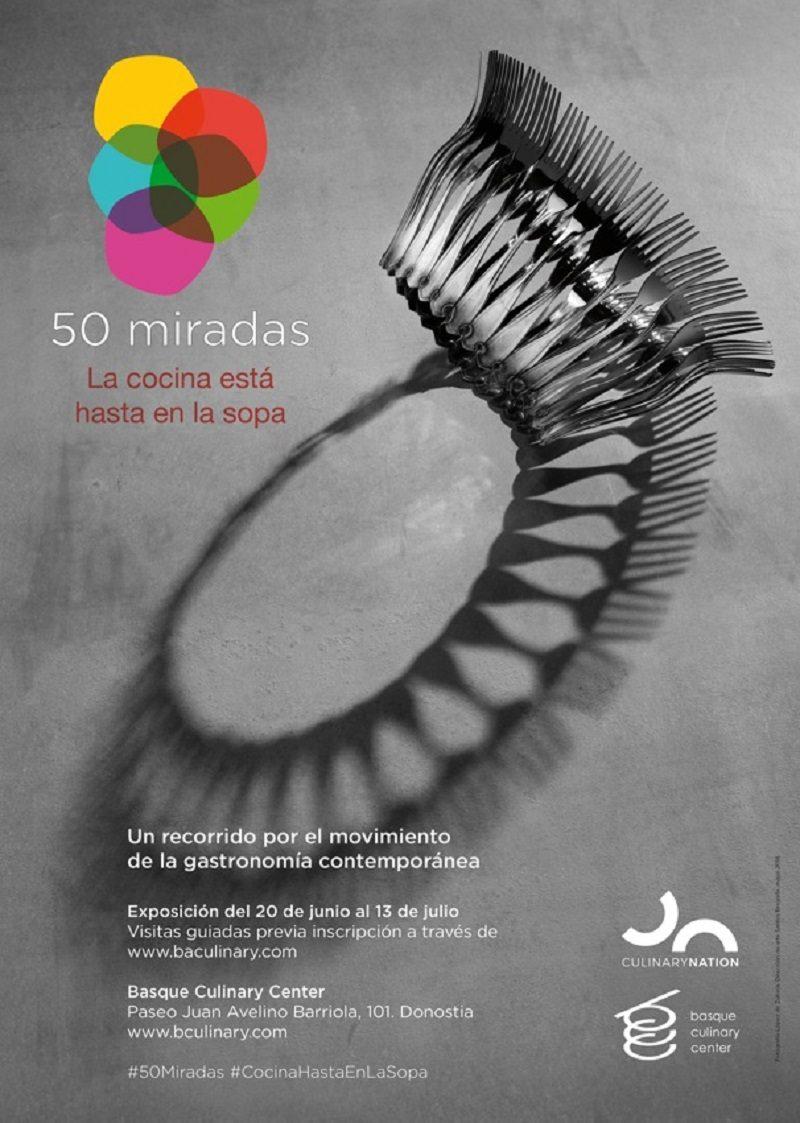 Basque Culinary Center ultima la exposición \'50 miradas\' con 50 ...