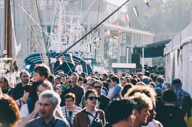 Imagen del Festival Marítimo de Pasaia. Foto: Santiago Farizano