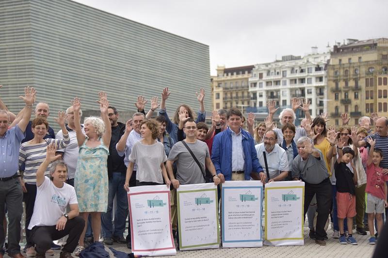 Inauguración de la sede de Euskal Herria 1. Foto: Gure Esku Dago