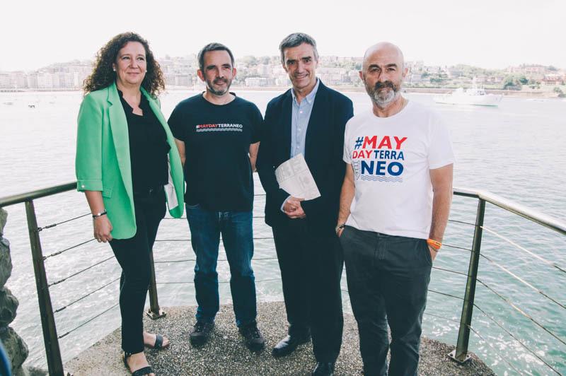 Presentación de SMH hoy en Donostia. Foto: Santiago Farizano
