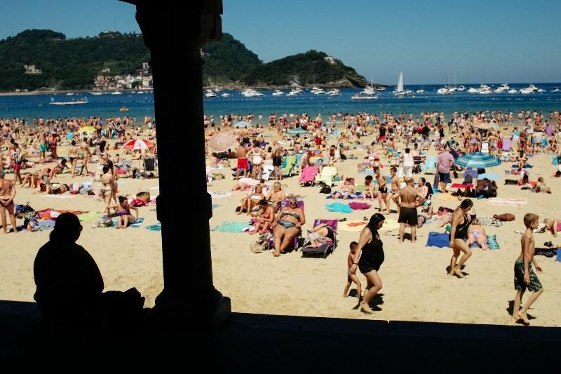 Playa de la Concha. Foto: Santiago Farizano