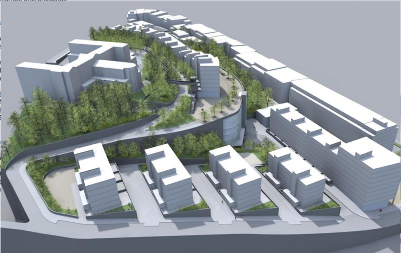 Proyecto previsto en Aldakonea.