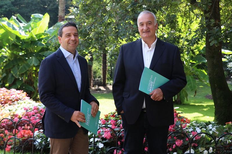 Lasa y Barandiarán en la presentación. Foto: Diputación