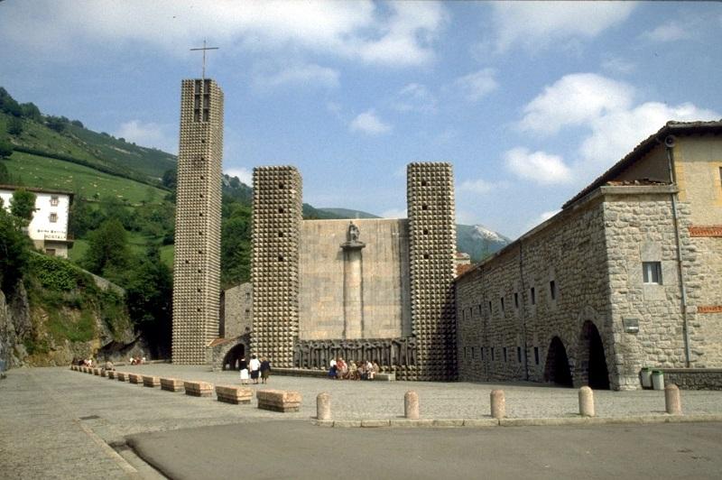 Santuario de Arantzazu. Foto: Euskadi.eus