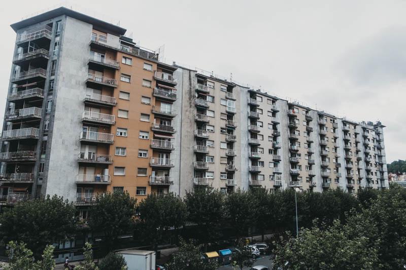 El precio del alquiler, al alza en Donostia. Foto: Santiago Farizano