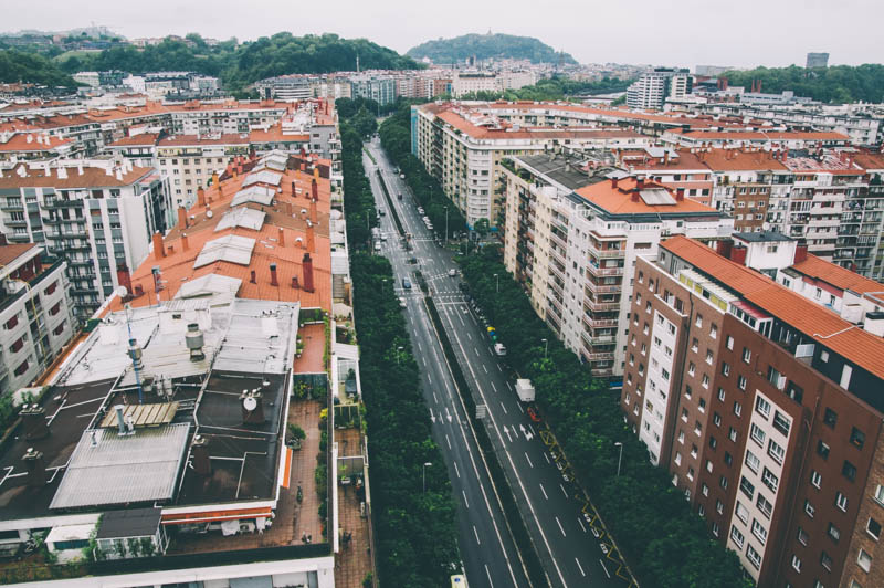 Barrio de Amara Berri. Foto: Santiago Farizano