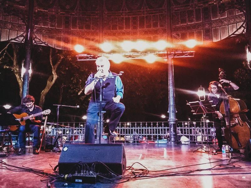 Actuación de Malevaje. Foto: A.E.