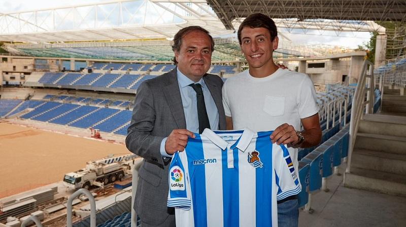 Jokin Aperribay y Oyarzabal. Foto: Real Sociedad