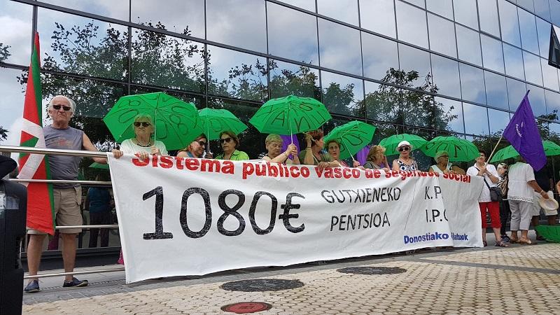 Foto: Plataforma de pensionistas