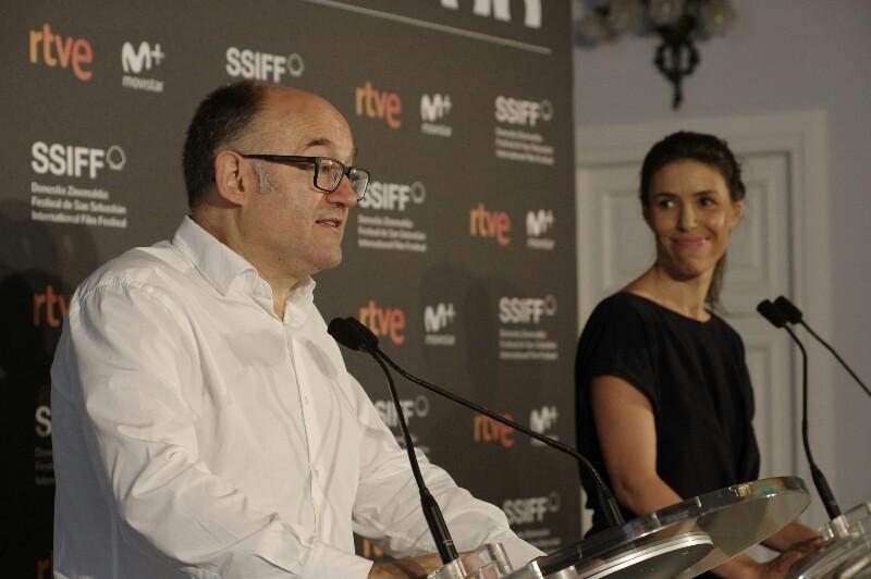 José Luis Rebordinos y Ruth Pérez de Anucita. Fotos: Santiago Farizano