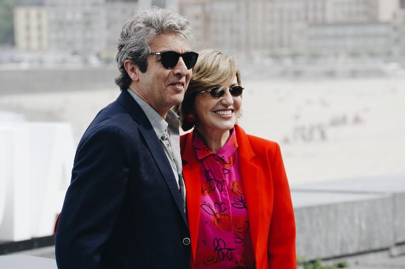 Ricardo Darín y Mercedes Morán. Fotos: Santiago Farizano