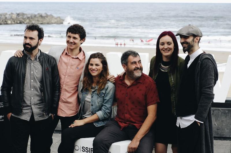 El equipo de 'Dantza'. Foto: Santiago Farizano