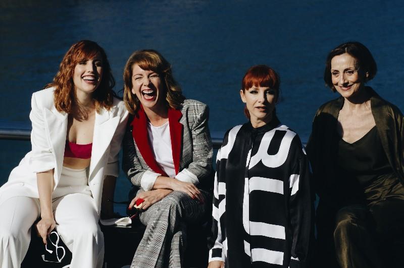 Las actrices de '¿Quién te cantará?'. Foto: Santiago Farizano