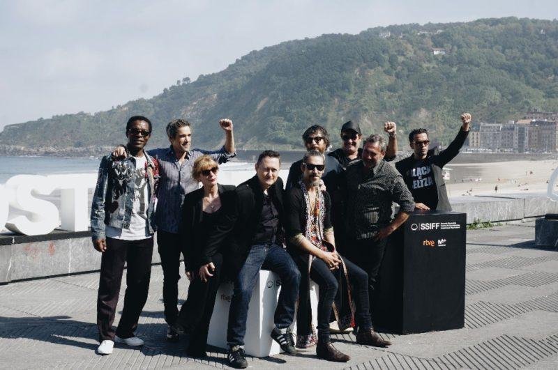 El equipo de 'Black is beltza'. Foto: Santiago Farizano