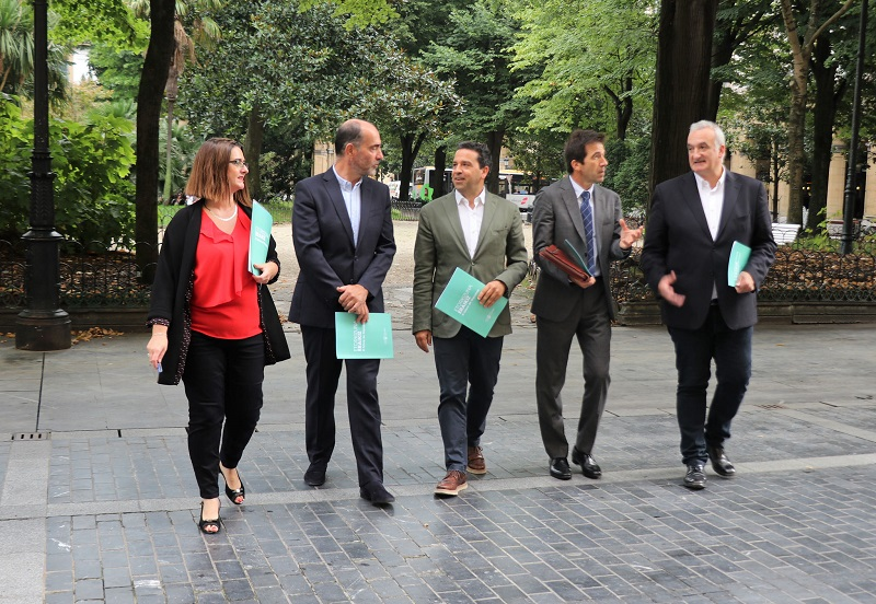 Presentación de la nueva oferta académica. Foto: Diputación