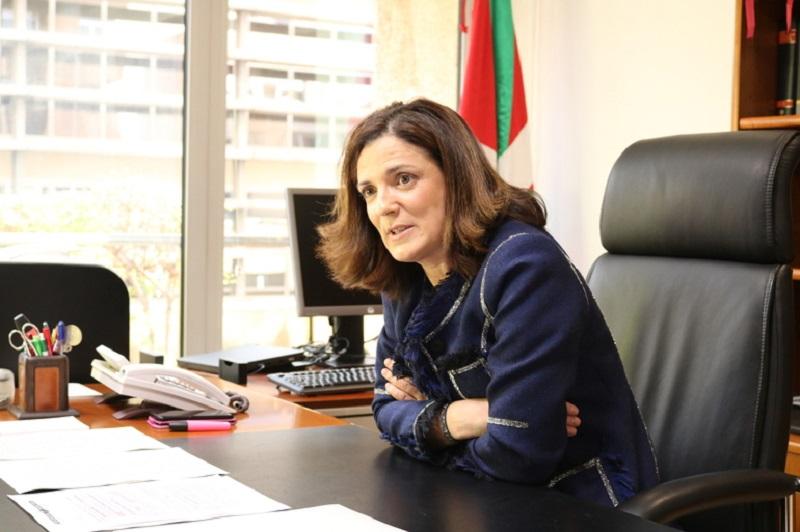 Consejera de Empleo Beatriz Artolazabal. Foto: Gobierno vasco