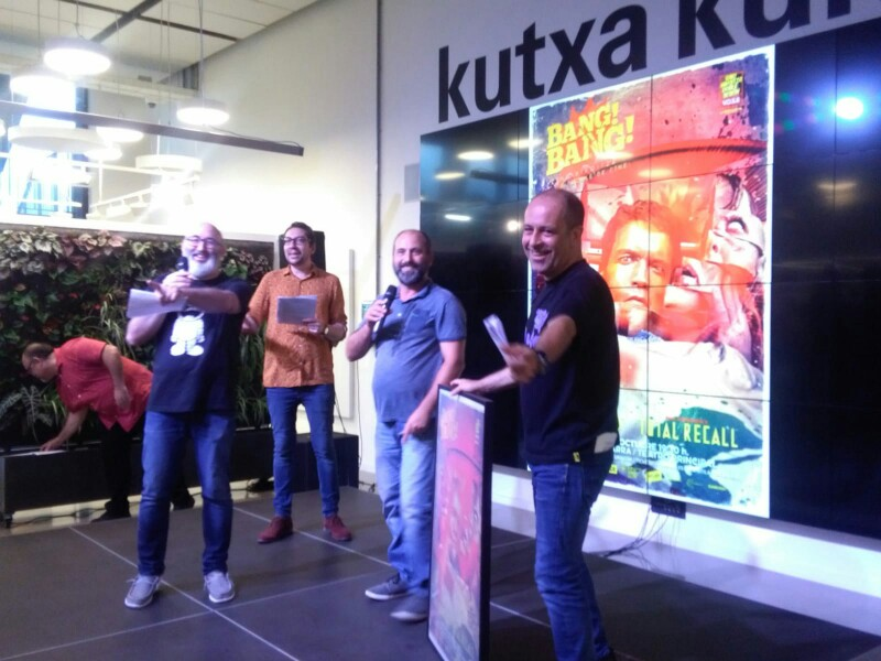 Presentación del Bang Bang en Kutxa Kultur Plaza de Tabakalera en 2018. Foto: A.E.