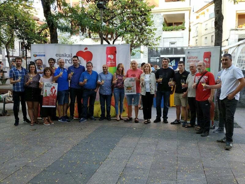 Presentación de la campaña esta tarde en Hernani. Foto: I.E.