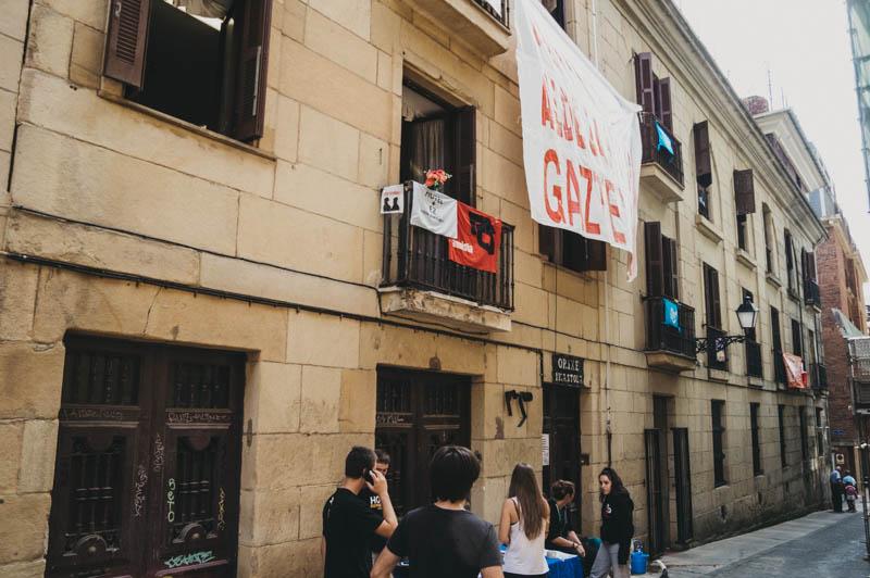 El edificio Kaialde, tomado el pasado septiembre. Foto: Santiago Farizano