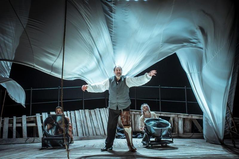 José María Pou subirá a las tablas del Victoria Eugenia con 'Moby Dick'.