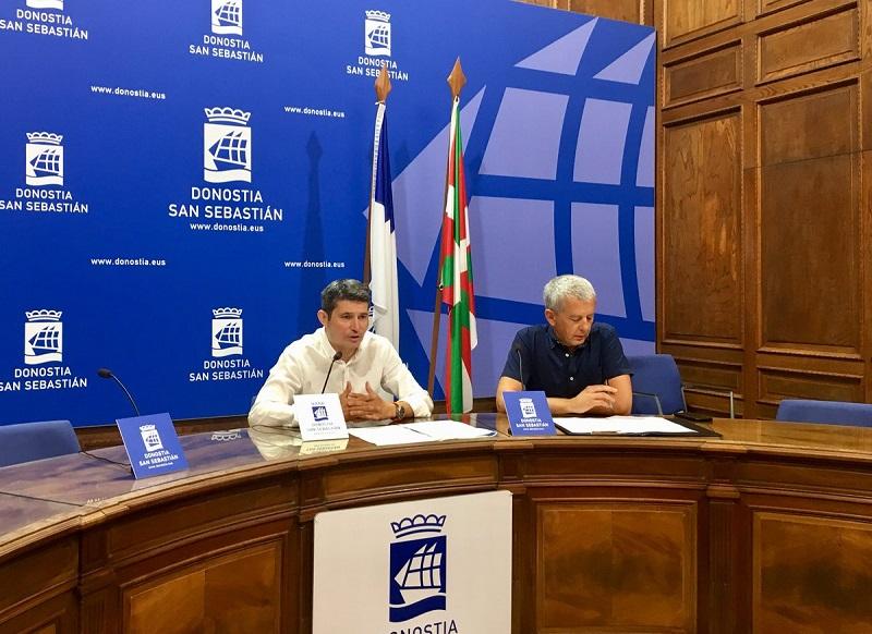 Presentación de las sanciones a las VPO esta mañana. Foto: Ayto.