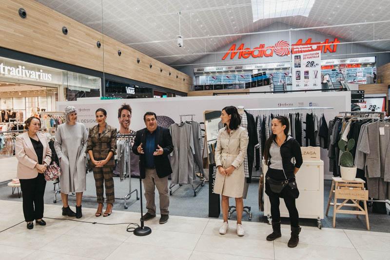 Diseñadoras del Clúster Donostia en Garbera. Fotos: Santiago Farizano