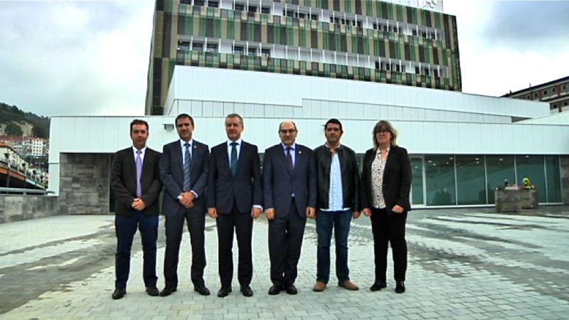 Inauguración del hospital de Eibar. Foto: Gobierno vasco