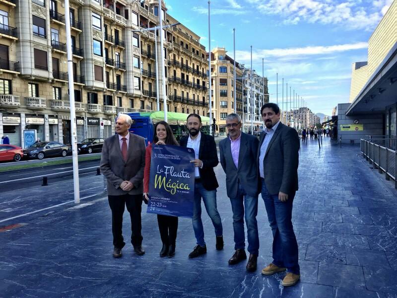 Echarri, Garmendia, Itxaso, Sainz Alfaro y Adrique. Foto: Kursaal
